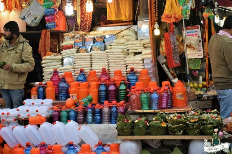 Shopping in Haridwar - Ganga water Haridwar