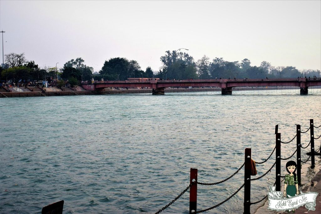 River Ganga in Haridwar - The Ganges in Haridwar