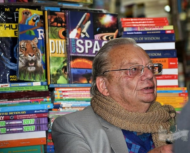 Ruskin Bond Mussoorie Mall Road Cambridge Book Depot Saturday