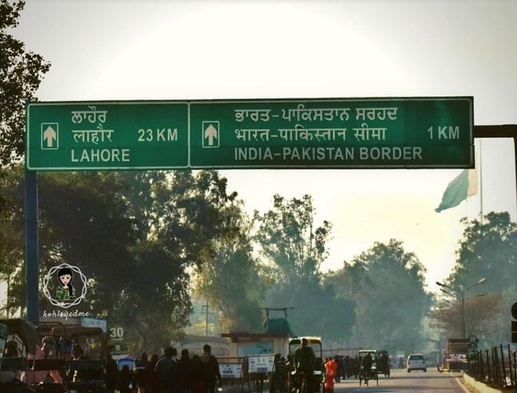 Wagah Border India