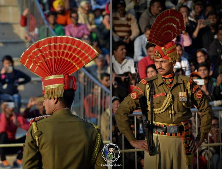 Wagah Border retreat ceremony