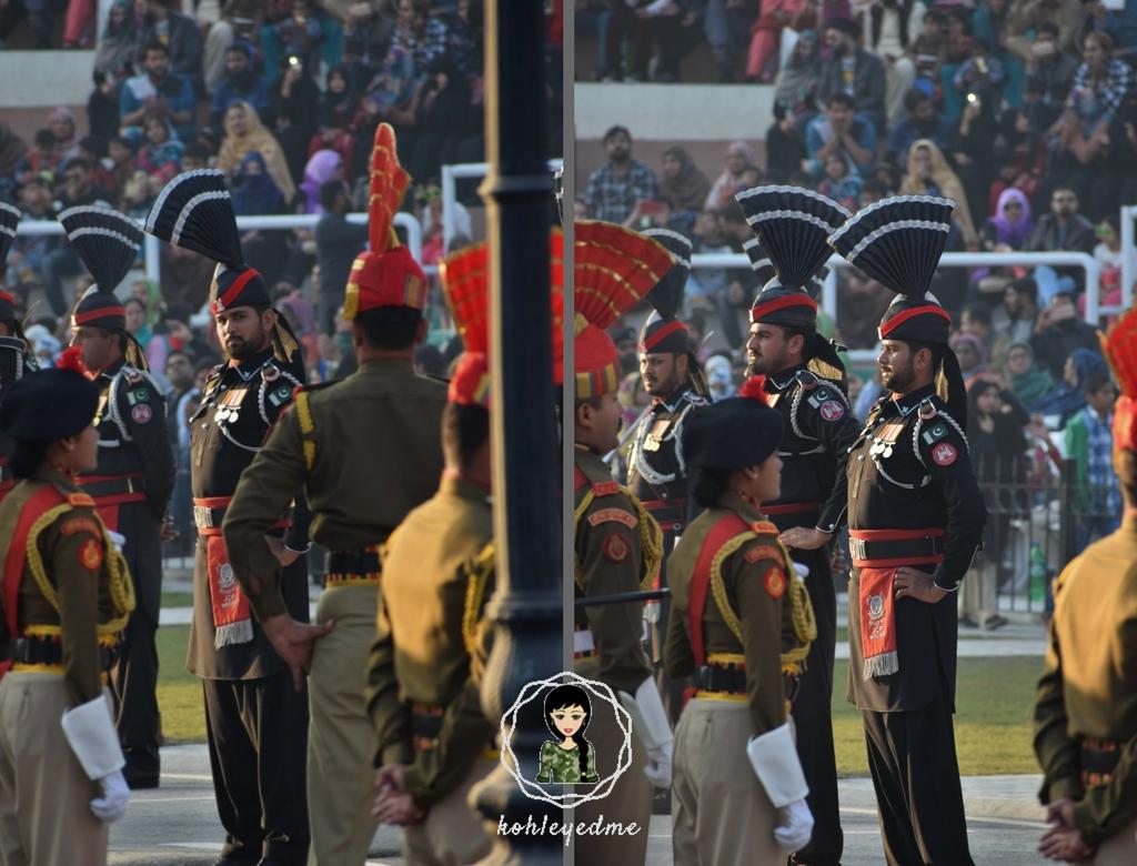 Wagah Border Pakistani Rangers kohleyedme.com