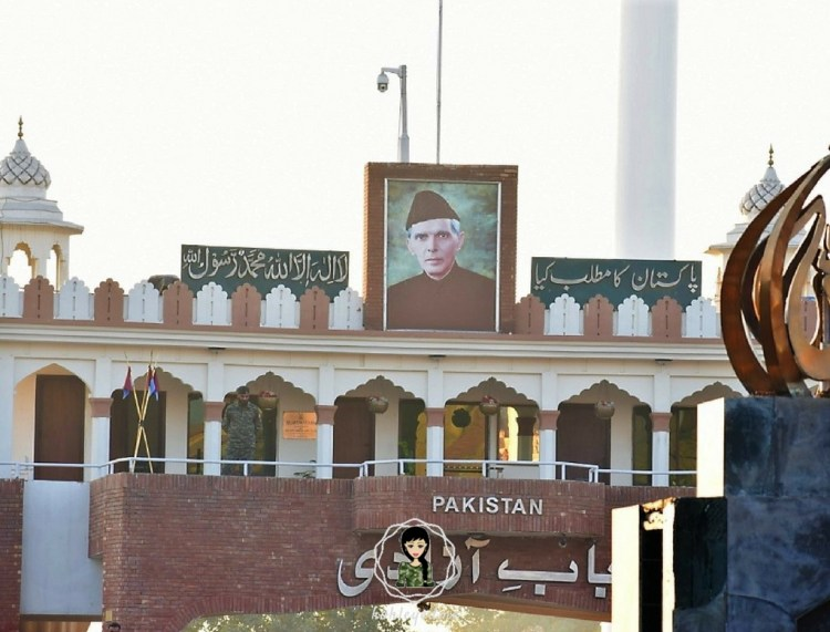 Wagah Border Pakistan Muhammad Ali Jinnah