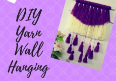 DIY Yarn Wall Hanging kohleyedme.com