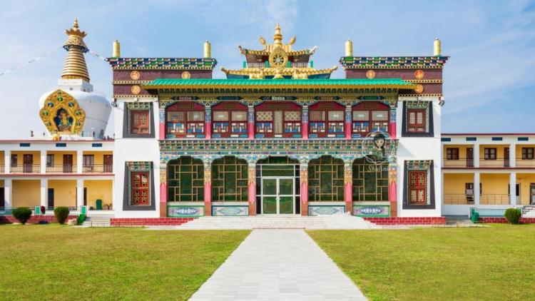 Mindrolling Monastery at Clement town Dehradun