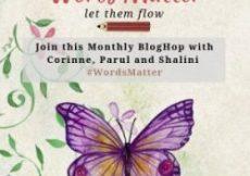 WordsMatter Monthly BlogHop