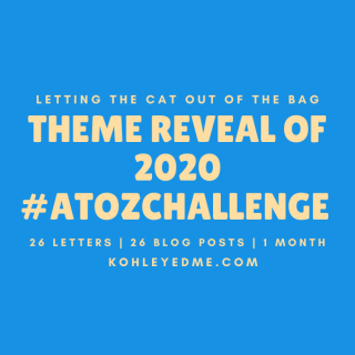blogging atozchallenge theme reveal 2020