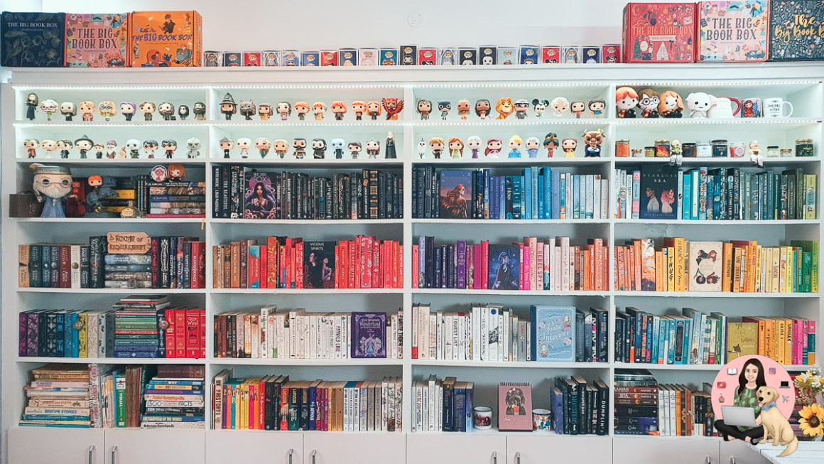 How to DIY Rainbow Bookshelf