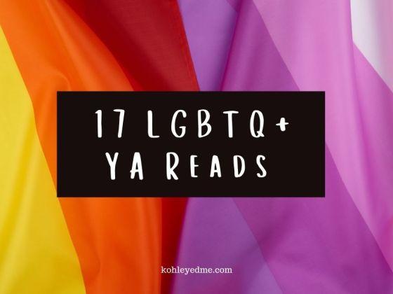 LGBTQ+ YA Books for Pride month