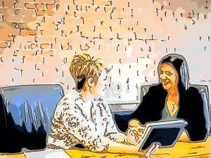 Interviewsituation. Psychologisches Tiefeninterview