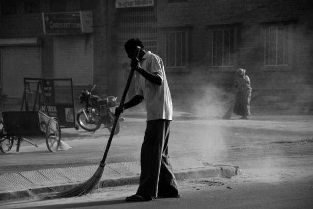 btech mca degree holder registered for sweeper post