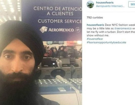 sikh actor asked to remove turban before travelling in plane