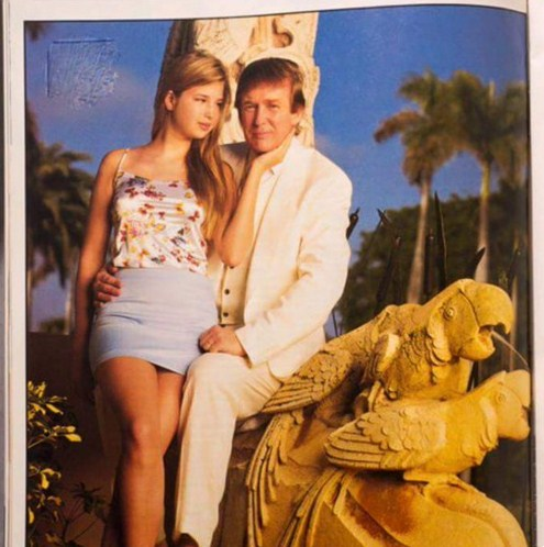 Donald Trump,Daughter,Sexy Photo,Controversial Photo Donald Trump,15 Years old daughter of trump