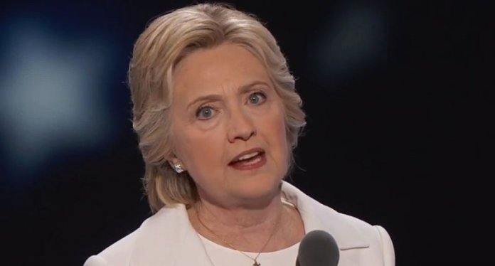 hillary clinton speaking at the 2016 democratic national convention screenshot 800x430