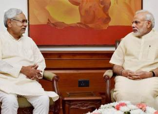 nitish kumar meets the prime minister