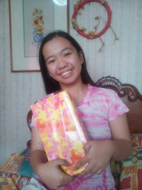 Me and my first gift <3