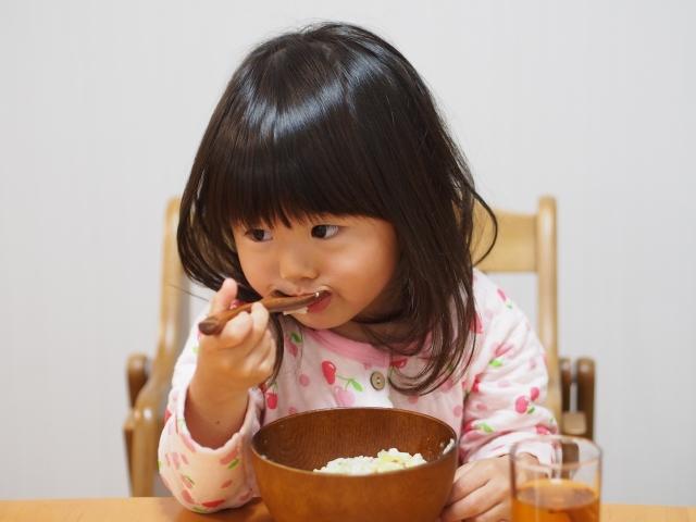 風邪の子どもの食事