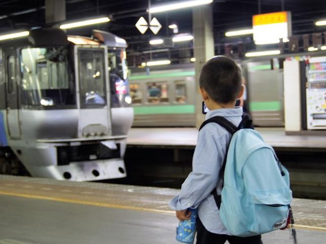 子どもと電車