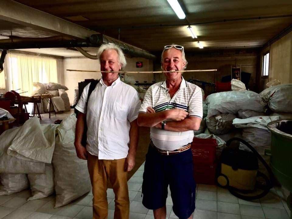 ミヒャエル氏とシュテファン氏兄弟の写真「南フランスの農家にて」