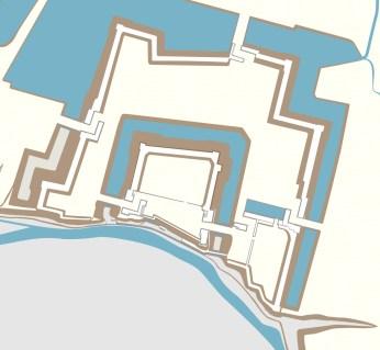 江戸時代中期頃の上田城