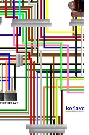 Triumph Sprint Colour Electrical Wiring Diagrams