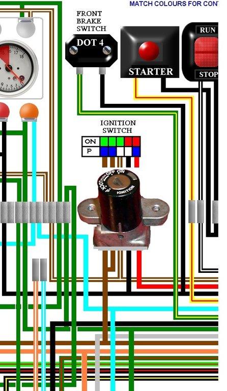 Honda Cb400 4 Cb400 Four Usa Spec Colour Wiring Loom Diagram