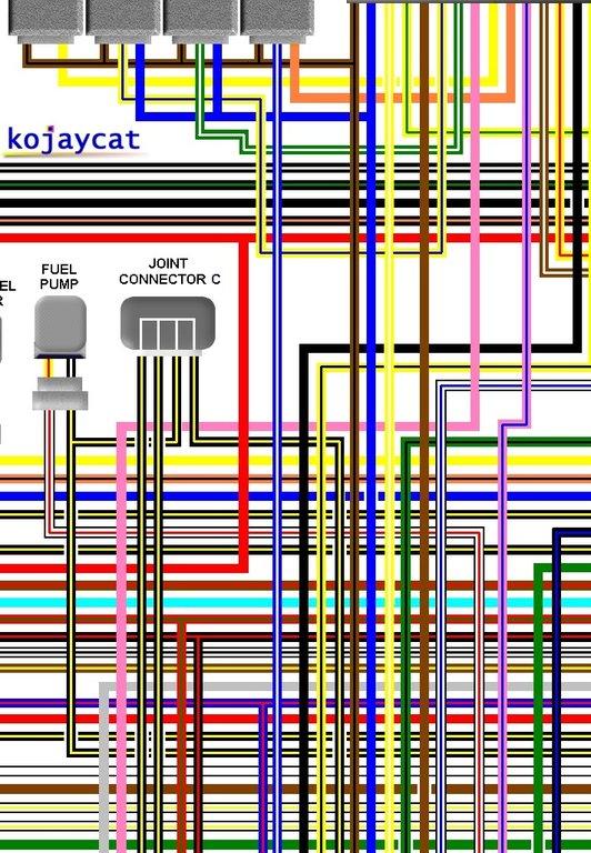 Kawasaki Zr750 J6 Uk Spec Colour Motorcycle Wiring Diagram