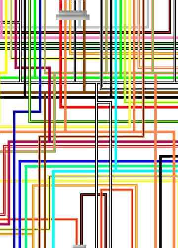 suzuki gsx1300r hayabusa 982000 uk spec colour wiring diagram
