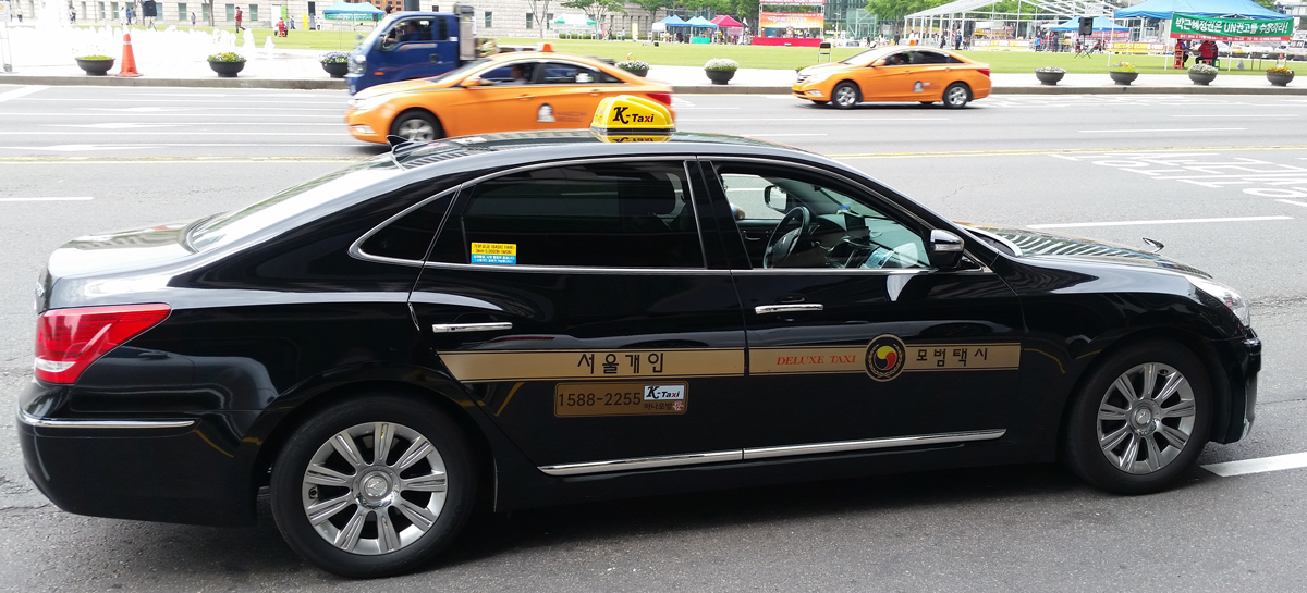 Image result for seoul taxi