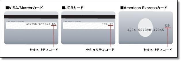 クレジットカード_CVC番号_セキュリティコード_チルドレンサロン