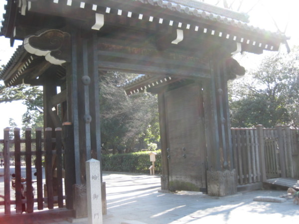 【京都散策】 京都御所蛤御門