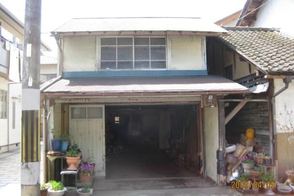 自宅前の倉庫解体