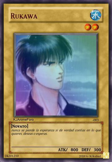 rukawa - Cartas de Yu-Gi-Oh! para los usuarios... - Off Topic