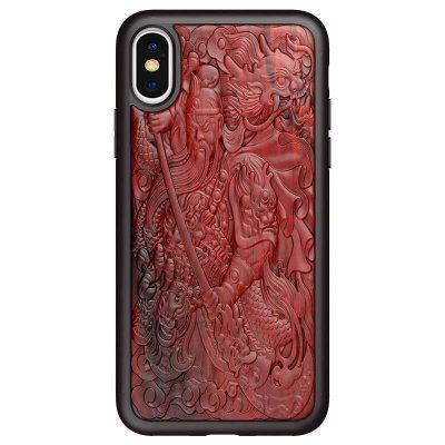 Coque en bois relief 3D iPhone 13 iPhone 12