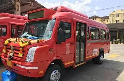 Mumbai gets it's 21 seater AC Mini Bus