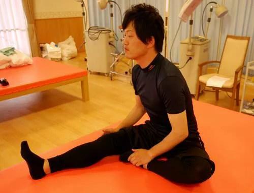 股関節内転筋のストレッチの正しい方法5