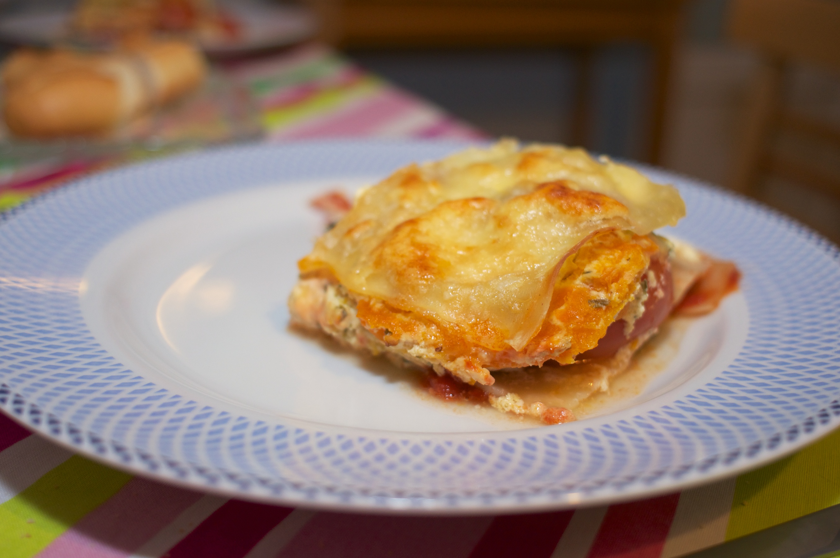 Vegetable Four Cheese Lasagna
