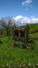 Pieni rakennus, jossa kuivataan viljoja, pääasiassa maissia.