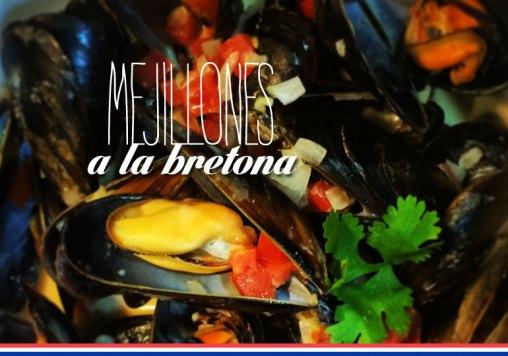 Mejillones a la Bretona