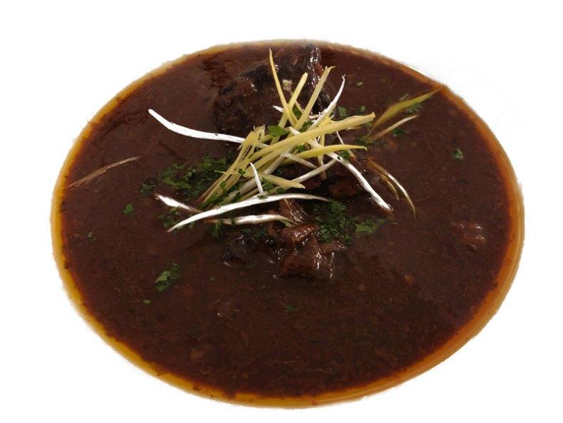 Sopa de gulash. Chef Koketo