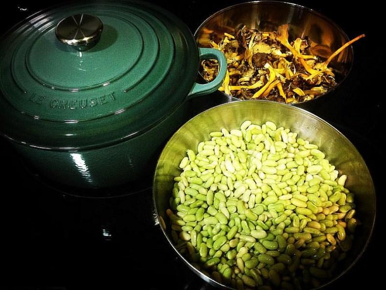Verdinas. Tiempos de cocción de verduras. koketo.