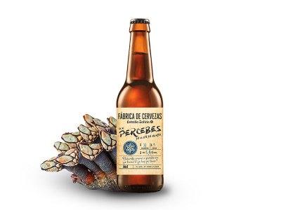 cerveza con sabor a percebe