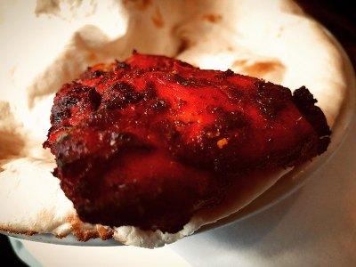 Pollo con naan