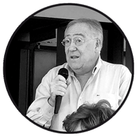 Fernando López Segura hablando de Álvaro González Coloma