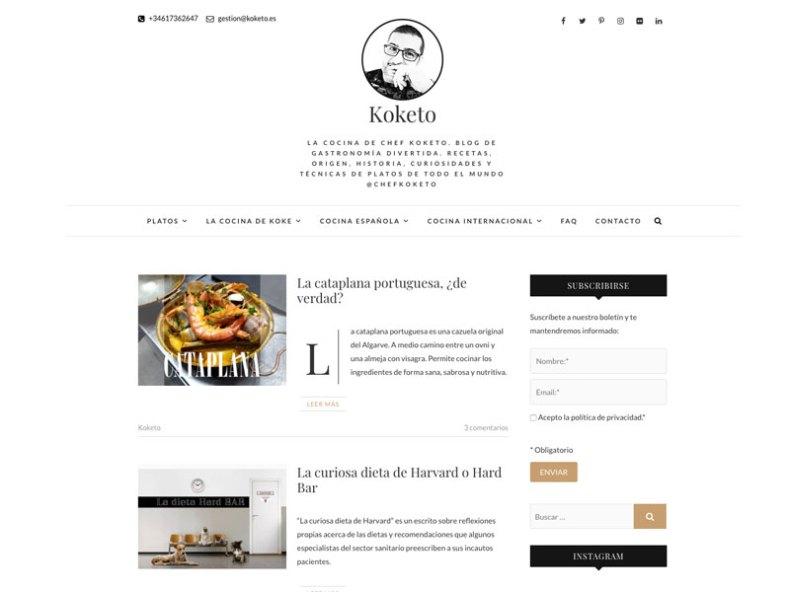 Blog del cocinero infiel