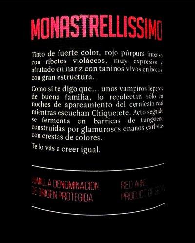 El vino elaborado por vampiros leperos.