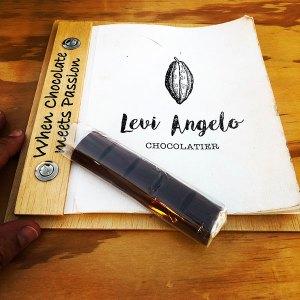 Levi Angelo. Chocolatier. Frigiliana. La ingeneria y el diseño de cartas de restaurante funcionan igual para otros establecimientos.