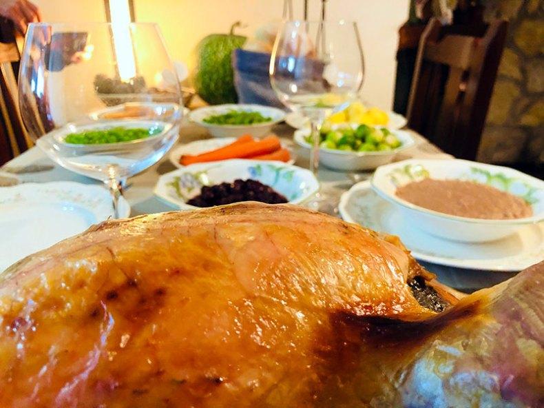 Pavo de Acción de Gracias. Chef Koketo