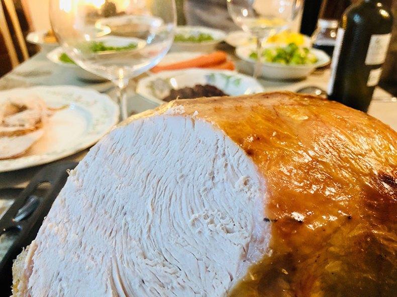 Plato completo de Thanksgiving