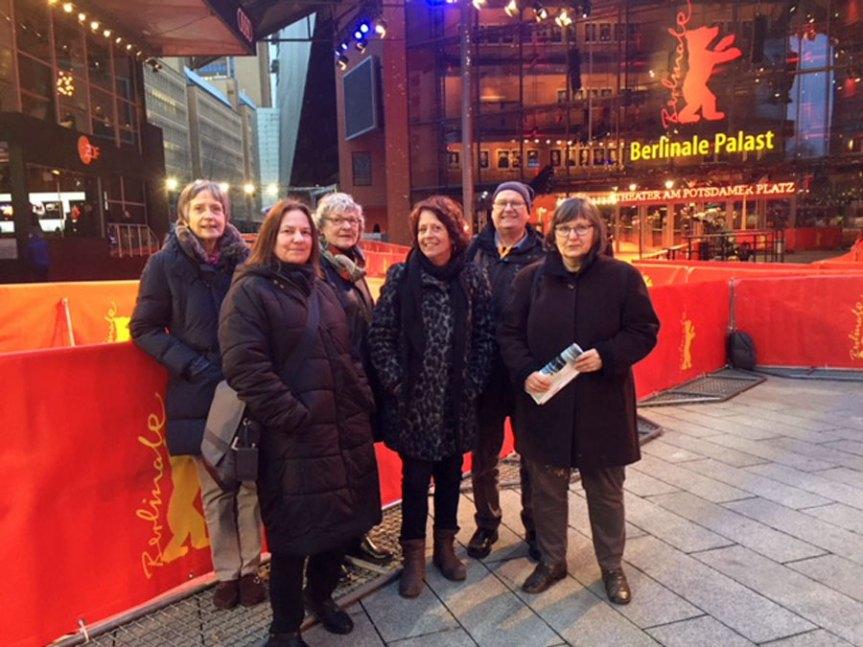Mitglieder des Kommunalkinos Verden auf Berlinale